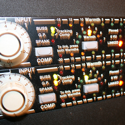 EMPIRICAL LABS FATSO JR. - STEREO COMPRESSOR, TAPE EMULATOR