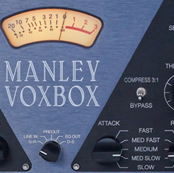 MANLEY VOXBOX - MIC PRE, COMPERSSOR, EQUALIZER, LIMITER