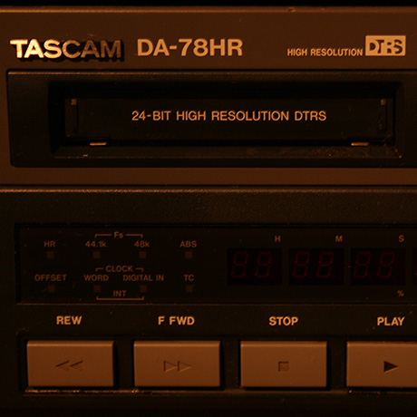 TASCAM DA78 HR DTRS RECORDER